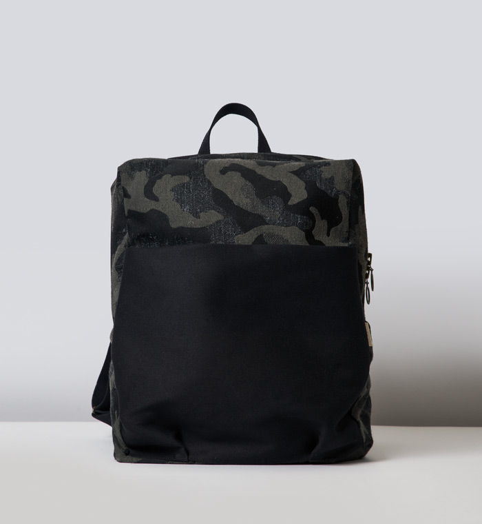 House of Myrtle Forest baby backpack