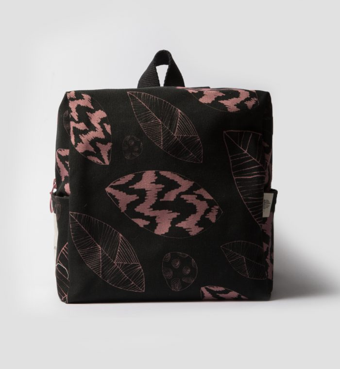 kids backpack butterfly print