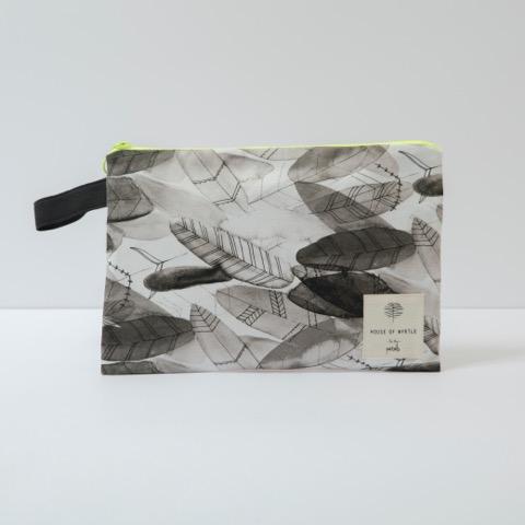 multipurpose feather bag